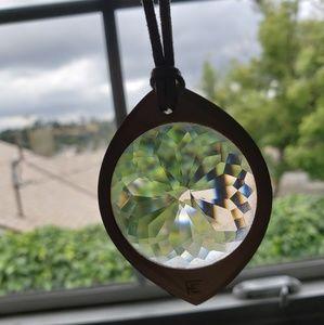 Future Eyes Kaleidoscope Pendant Necklace